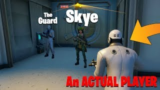 5 Minutes of Pretending to be Skye's Henchmen Guard... 😭