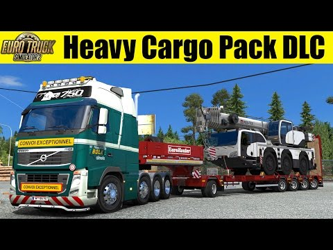 ETS2 - Heavy Cargo Pack DLC - 55t Mobile Crane