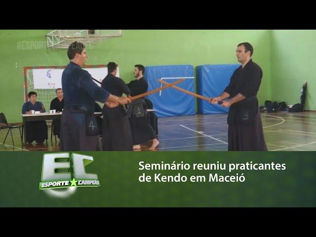 Seminário reuniu praticantes de Kendo em Maceió