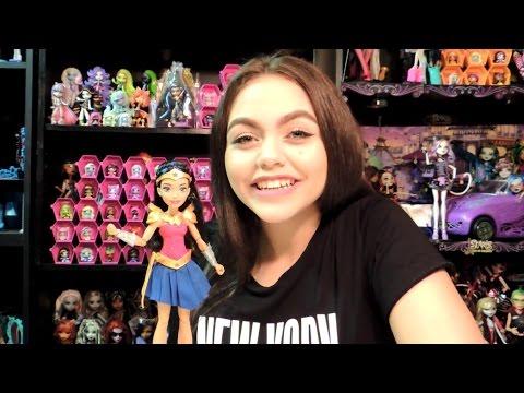 DC Super Hero Girls Wonder Woman of Themyscira Doll Review | WookieWarrior23