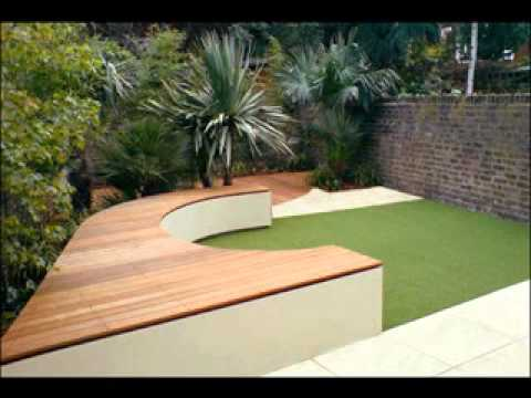 Garden seating decorating ideas YouTube