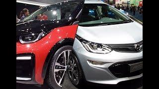 2017 Opel Ampera e vs. 2017 BMW i3s