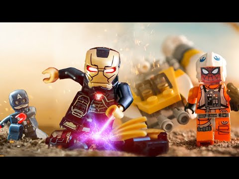LEGO Avengers's School Was Attacked