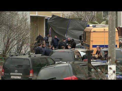 В Москве, в подвале многоэтажного дома нашли оружие и взрывное устройство.