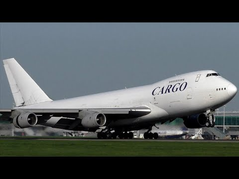 The Cargo Airlines BOEING 747-200F 4L-GEO at Stansted Airport