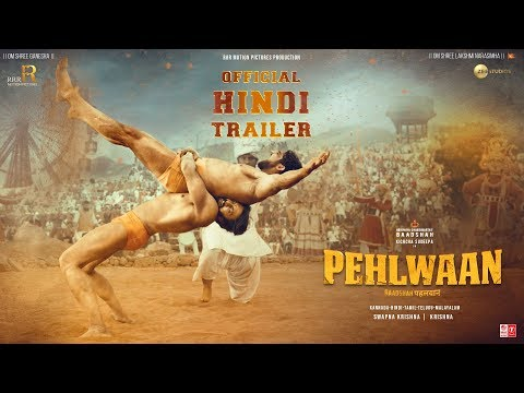 Pehlwaan movie | Official Trailer | starring Kichcha Sudeepa, Suniel Shetty