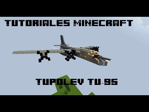 Tutoriales Minecraft: Túpolev Tu-95