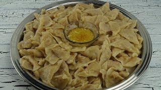 Sivas Yemeklerinden Patatesli Hingel Tarifi (Maultaschen mit Kartoffelfüllung)