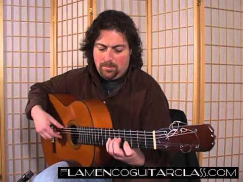 Etude No  1 Flamenco Guitar Class