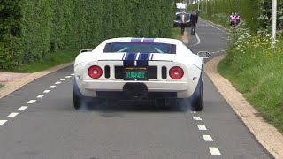 Supercars Leaving a Car Meet LOUD! Ford GT, Novitec F12, Lexus LFA, LP640 & More!