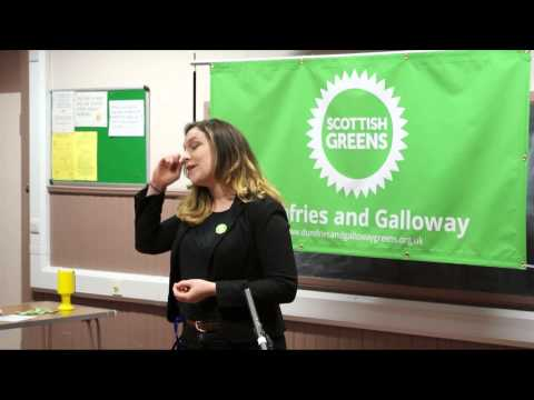 Sarah Beattie Smith - SGP Dumfries and Galloway Hustings