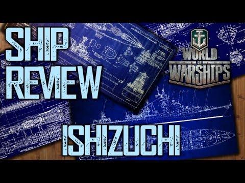 World of Warships - Ishizuchi Tier IV Premium Japanese Battleship Review