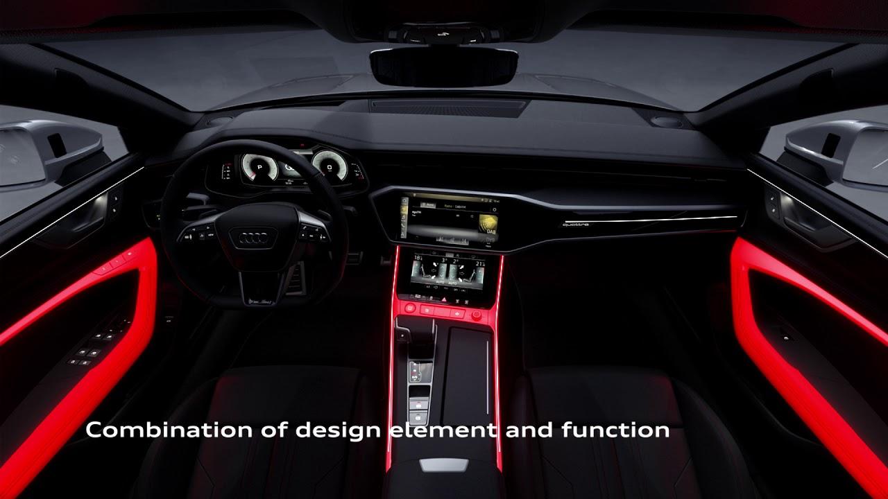 2018 Audi A7 Sportback Interior Design