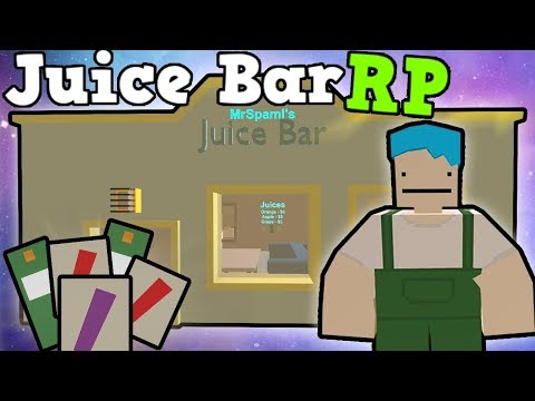 Juice Bar RP - Chilled Fruity Drinks! - Unturned 3.0
