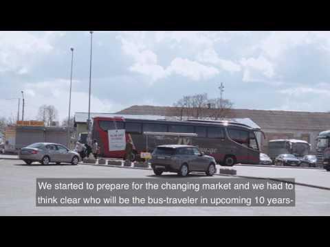 Buses breaking rank