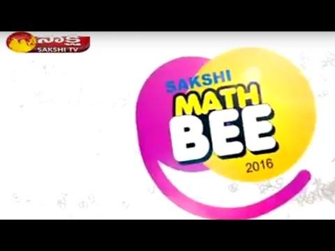 Sakshi Math Bee 2016 AP Category -1 || Sakshi TV