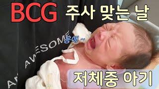 [신생아 BCG ]생후 24일 /2.9KG 로 불주사 …