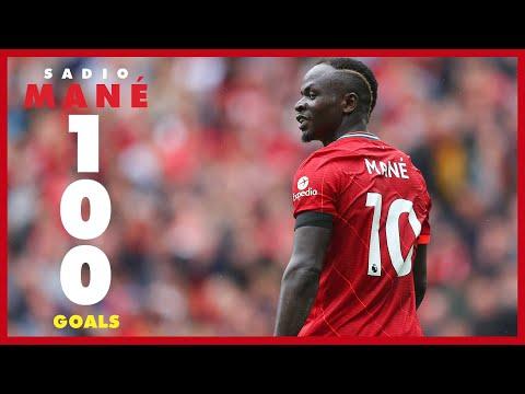 Sadio Mane's 100 goals for Liverpool |  Arsenal celebration, late Everton winner and stunner in Munich