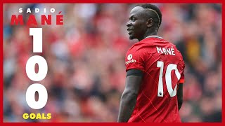 Sadio Mane's 100 Liverpool goals   Arsenal celebration, Everton late winner \u0026 Munich stunner