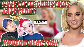 🔥(ENG) KOREAN Rappers react to Katy Perry - Cozy Little Christmas🔥