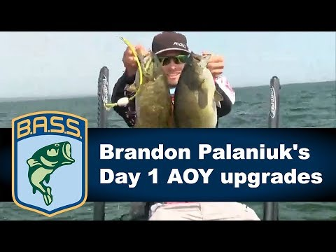 Brandon Palaniuk's key Day 1 AOY upgrades