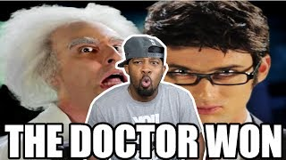 [ REACTION ] Doc Brown Vs Doctor Who Epic Rap Battles Of History‼ Plus Behind The Scenes‼