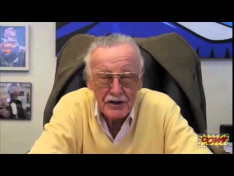 Stan Lee sings the DeWitt Clinton HS Fight Song