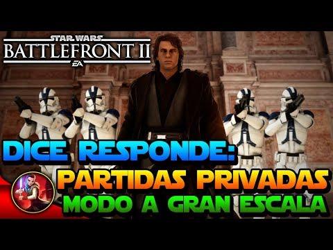 DICE RESPONDE: PARTIDAS PRIVADAS + NUEVO MODO para ARCADE- Nuevas Noticias - Star Wars Battlefront 2 thumbnail