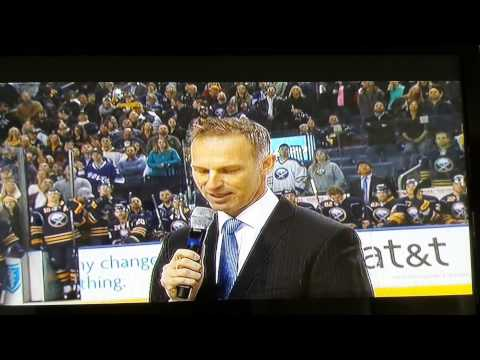 Dominik Hasek honored by Buffalo Sabres