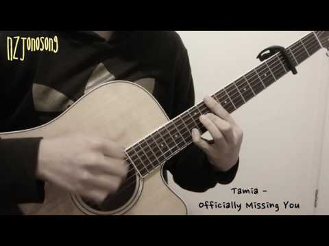 Officially Missing You [Tamia] Fingerstyle Guitar Solo Cover