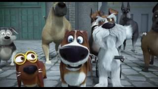 Большой собачий побег - Трейлер (дублированный) (HD)