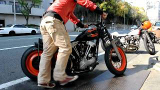 Kick start of knuckle head 1946FL(HD)