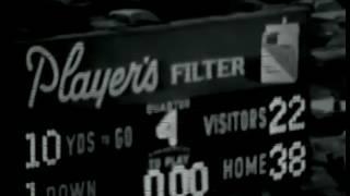 CFL Argos 1967 vs Ottawa Montreal vs Silent bw