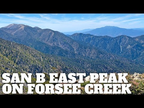 Hike San Bernardino East Peak From Forsee Creek Trail - HikingGuy.com