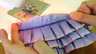 How To Make Doll Outfits 13  Ruffle Dress