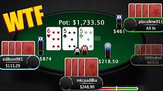 5 Big POT LIMIT OMAHA Hands - Railing $500 PLO Online Poker (Unconventional Strategies)