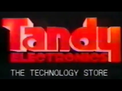 1986 Radio Shack TV Commercial - Tandy Store (UK)
