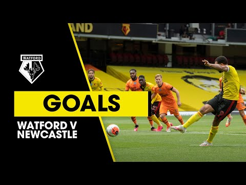 DEENEY AT THE DOUBLE AGAINST NEWCASTLE   WATFORD 2-1 NEWCASTLE