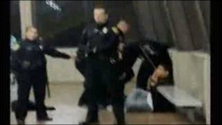 OAKLAND COP SHOOTING BLACK MAN INNOCENT RODNEY KING ESQUE CALIFORNIA