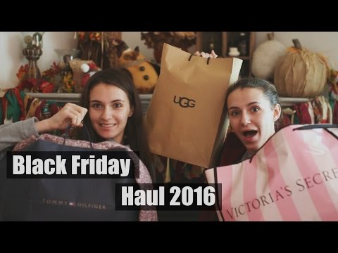Black Friday Haul 2016, UGGS, Victoria Secret Tommy Hilfiger,|Christmas Giveaway (Closed)