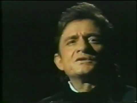 Johnny Cash recites