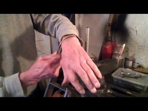 Making a Copper Bracelet