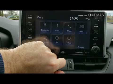 How To Adjust The Volume On Your Toyota Entune 3.0 Navigation System