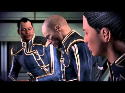 Mass Effect 3 - Cutscene 02 - Meeting the Defense Committee