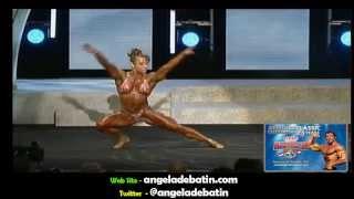Angela Debatin IFBB Pro bodybuilder - 2013 Arnold Classic