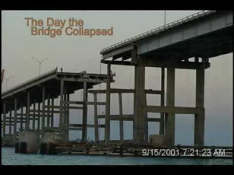 Queen Isabella Causeway Collapse ~ September 15, 2001 ... | 480 x 360 jpeg 13kB