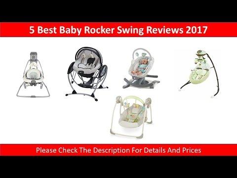 5 Best Baby Rocker Swings Reviews 2017 | Smooth Swing And Rocker