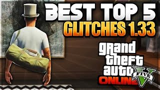 GTA 5 1.33 BEST ''TOP 5 GLITCHES, TIPS & TRICKS'' After Patch 1.33! (Best Working Glitches 1.33)