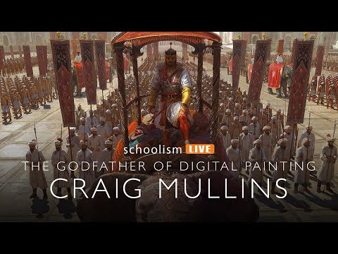 The Godfather Of Digital Painting Craig Mullins Youtube