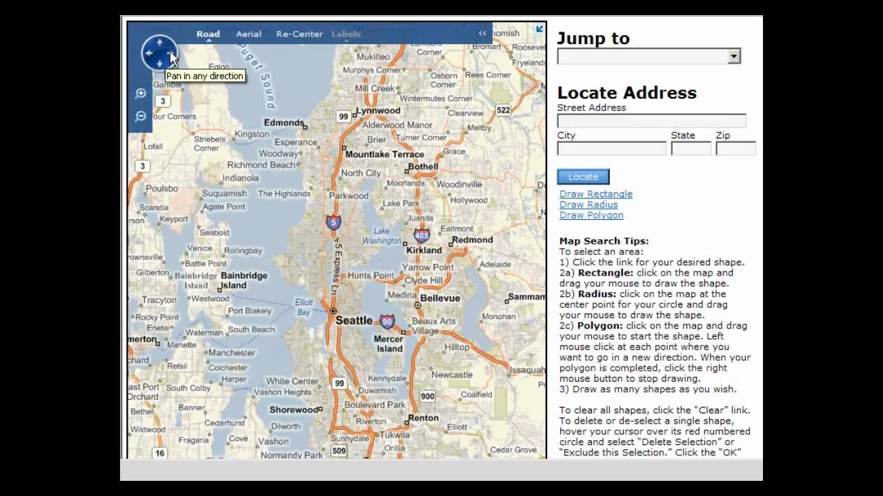 NWMLS - Matrix Tutorial Map Search - YouTube
